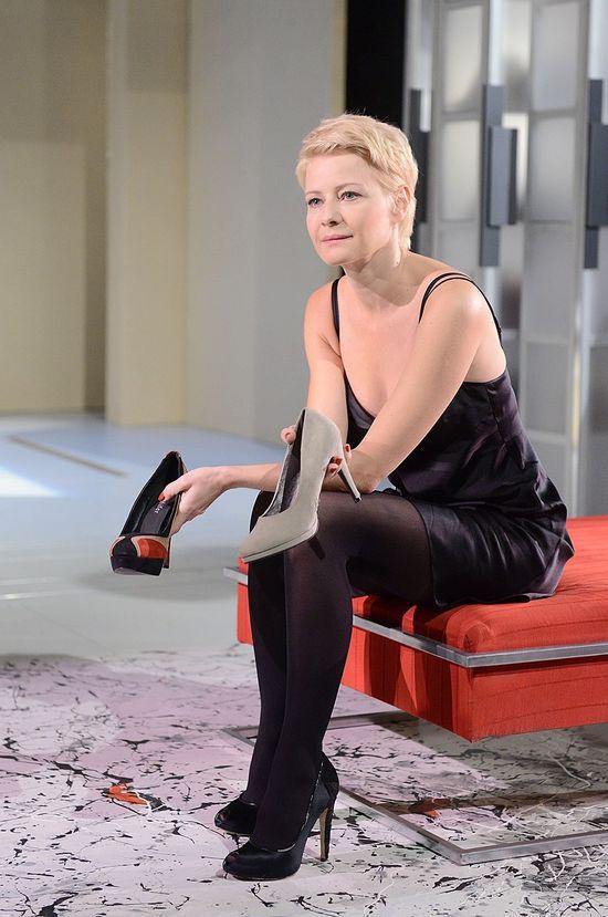 Małgorzata Kożuchowska kompletnie położyła rolę w teatrze?