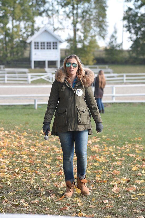 Ciężarna Kraśko i skupiona Rusin na zawodach konnych (FOTO)