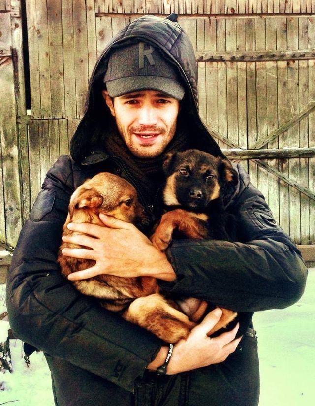 Krawczyk i Włodarczyk chcą adoptować psa ze schroniska