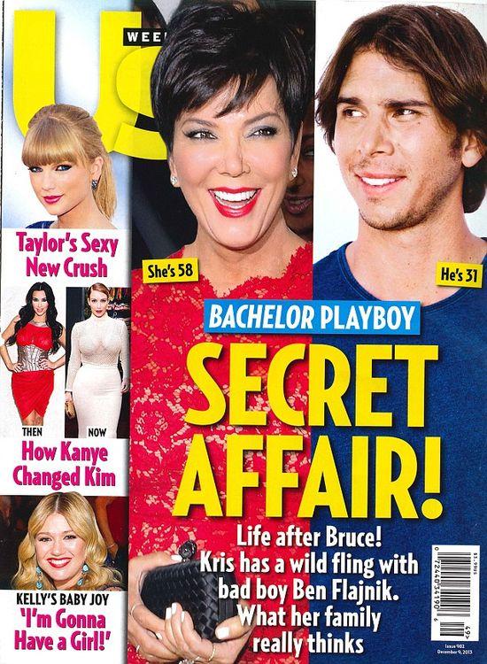 Kris Jenner zadowolona z plotek o swoim romansie