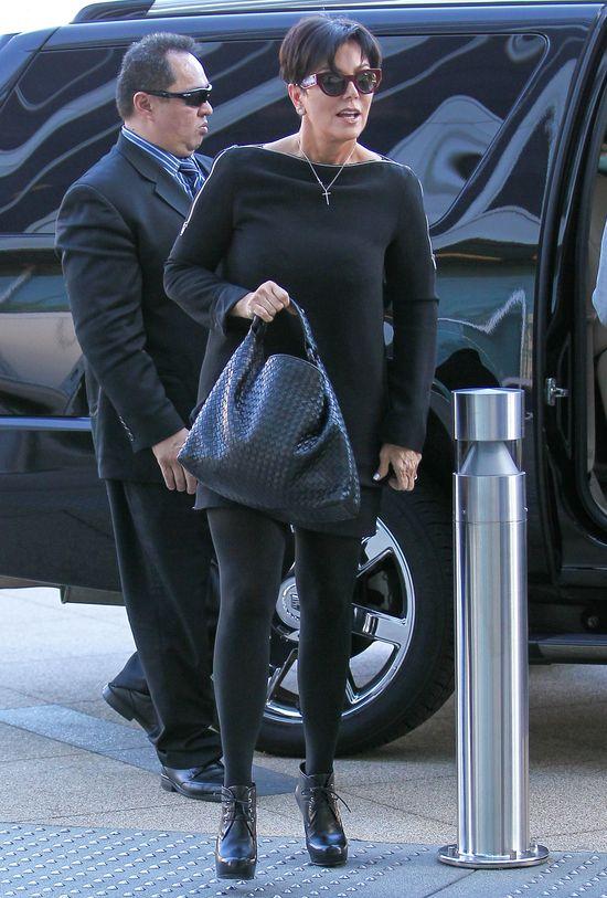 Z twarzy Kris Jenner po raz piewrszy znikł uśmiech