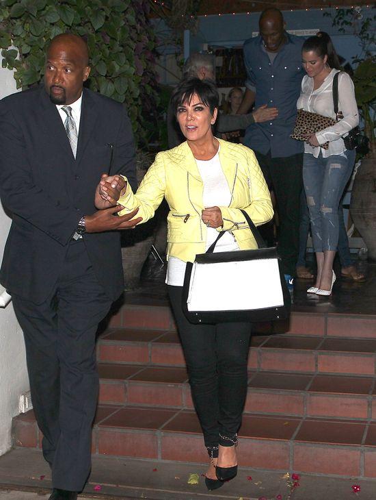 Kris Jenner namawia Khloe do rozwodu z Lamarem