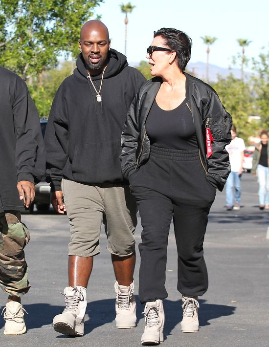 Kris Jenner nie uwolni się od Coreya Gamble!