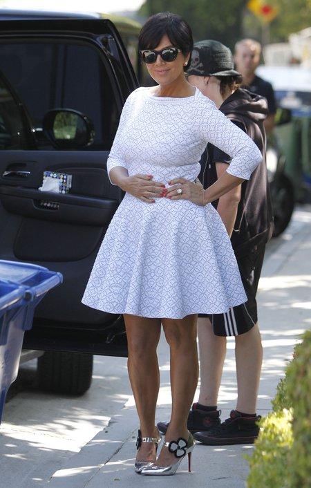 Kris Jenner spotkała się ze swoim byłym kochankiem