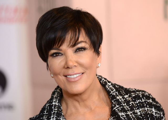 Co Kris Jenner zrobiła przed świętami z twarzą?