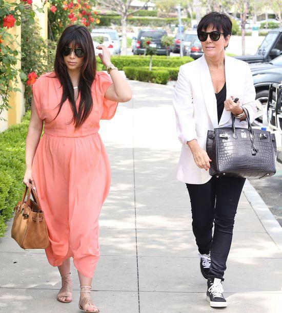 Kris Jenner płakała, gdy wyłyneło porno Kim Kardashian
