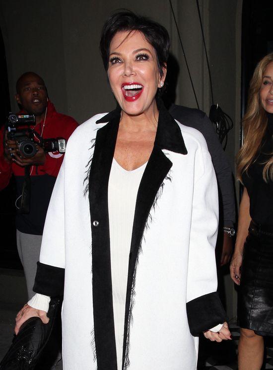 Kris Jenner upiła się na randce z młodszym kochankiem (FOTO)