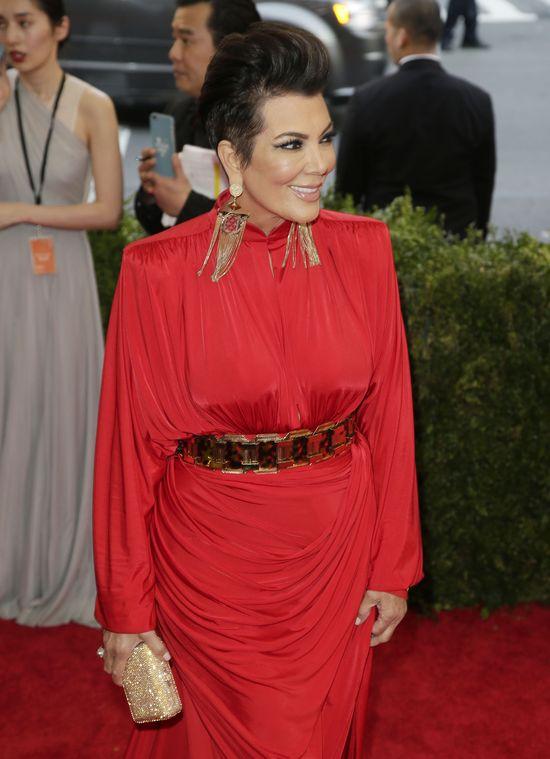 Kris Jenner wybłagała zaproszenie na galę Met?