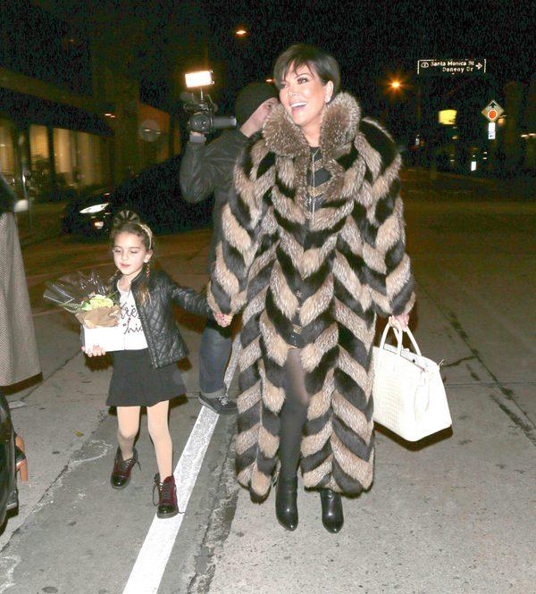 Kris Jenner rozwścieczyła obrońców praw zwierząt (FOTO)