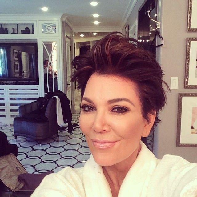 58-letnia Kris Jenner wstrzyknęła sobie tłuszcz w policzki