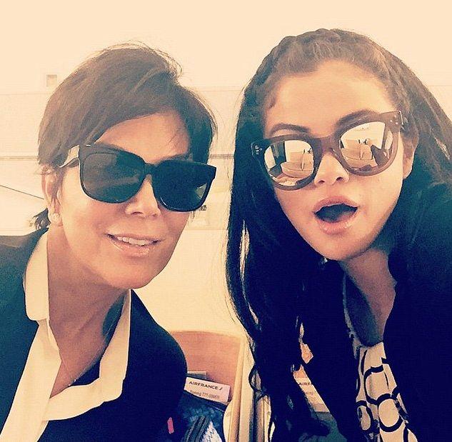 Nie uwierzycie, o co Kris Jenner poprosiła Selenę Gomez