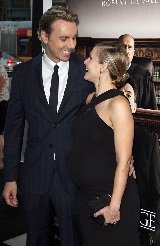 Kristen Bell urodzi lada dzień? (FOTO)