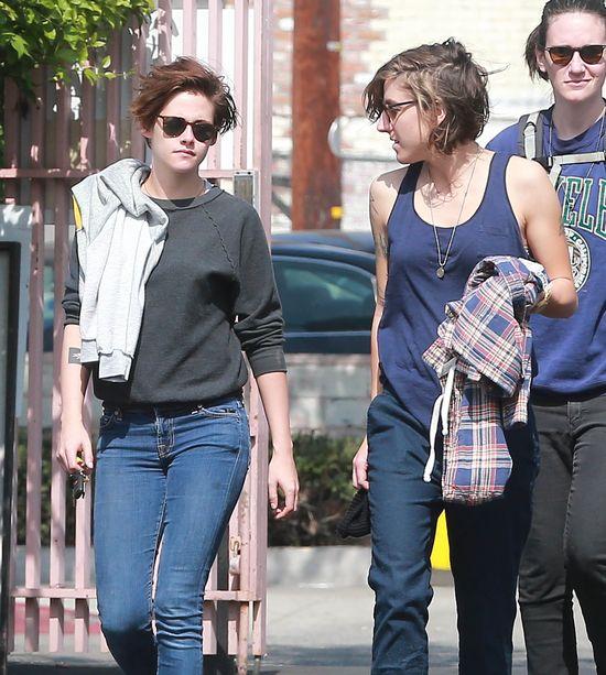 Tak od�y�y plotki o lesbijskim romansie Kristen Stewart