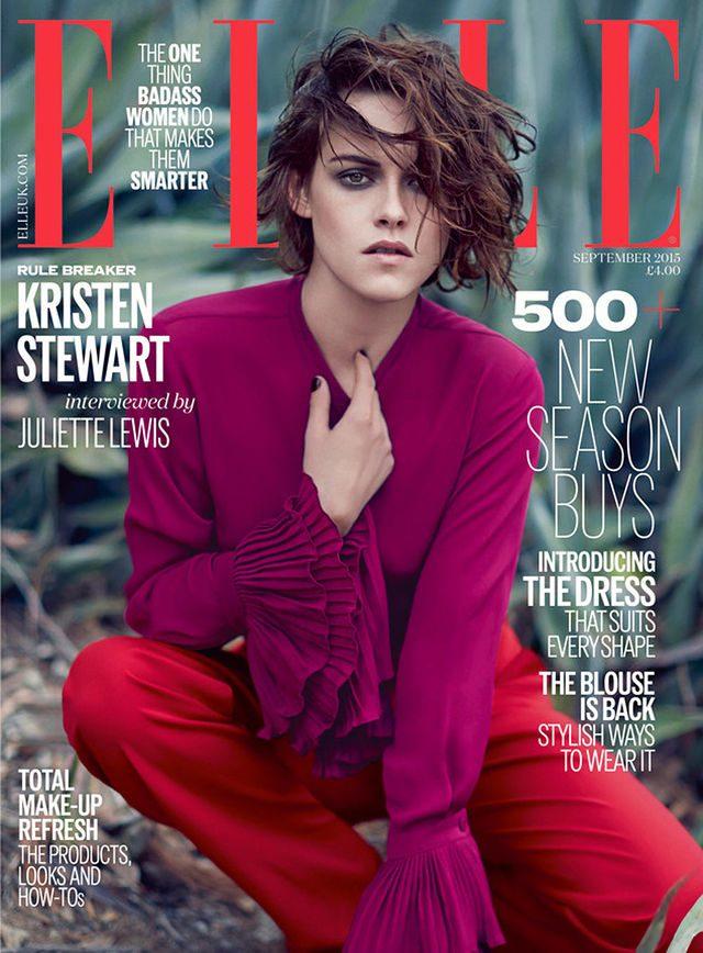 Kristen Stewart w Elle: Ja si� nie u�miecham?!