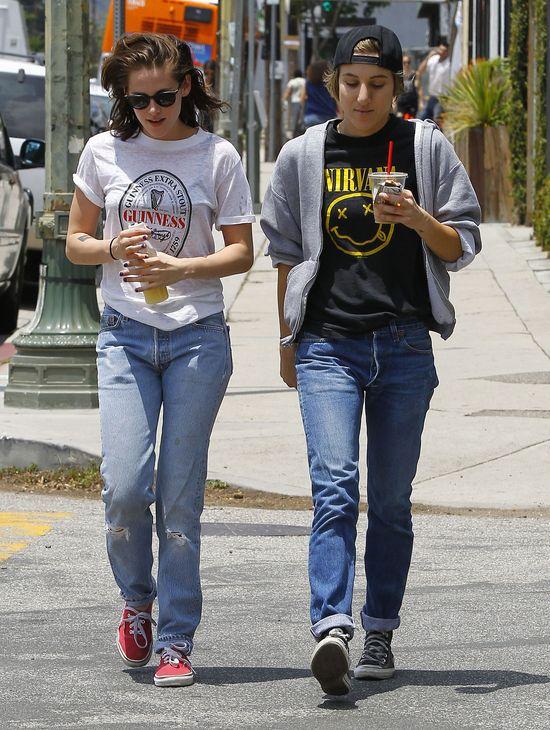 Kristen Stewart nie stroi�a si� na randk� (FOTO)