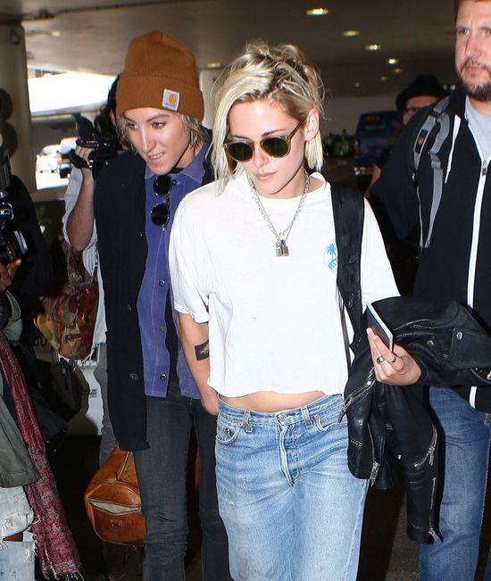 Nie zgadniesz, z kim Kristen Stewart wróciła z Cannes!