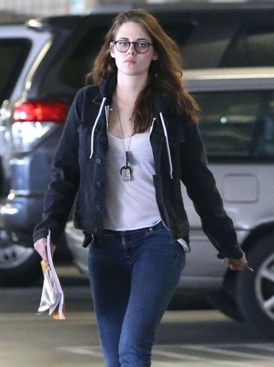Kristen Stewart nie potrafi zrobić sobie makijażu