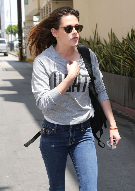 Kristen Stewart wyzywa paparazzi (VIDEO)