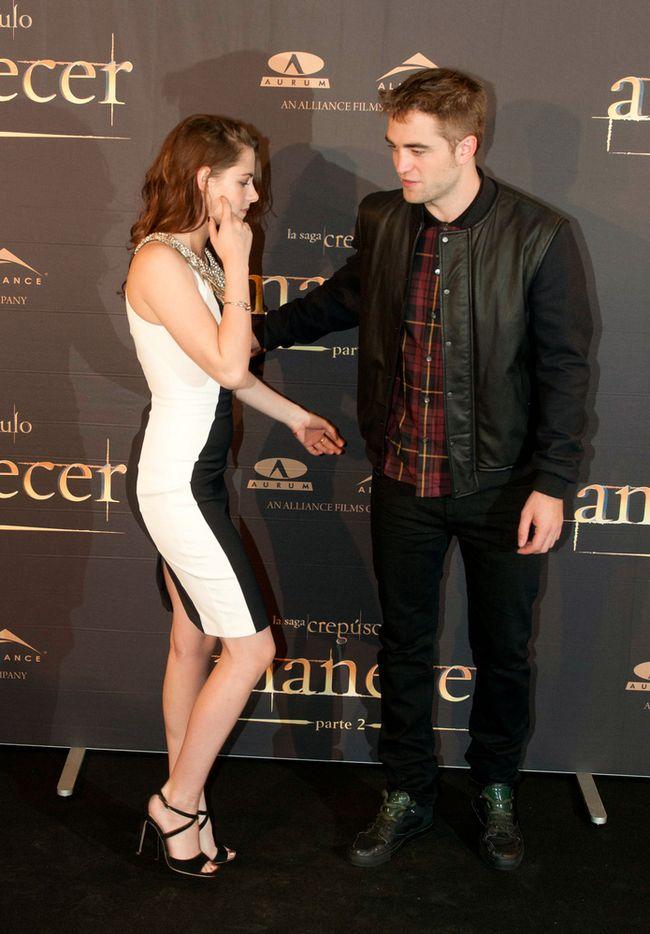 Kristen Stewart i Robert Pattison w Madrycie (FOTO)