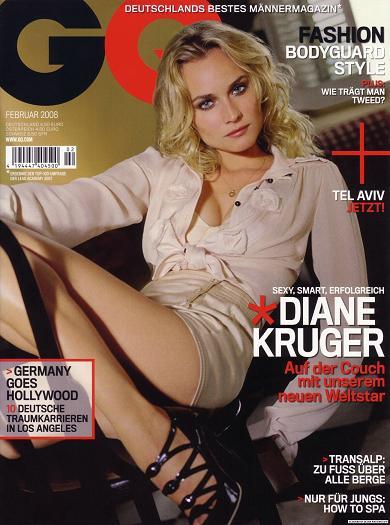 Diane Kruger dla GQ