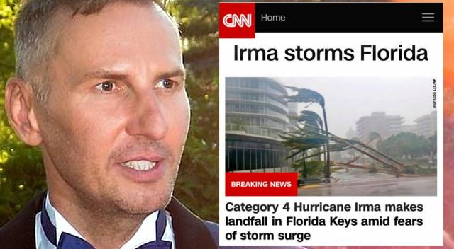 Apartament Krzysztofa Gojdzia ucierpiał w huraganie Irma? (Instagram)