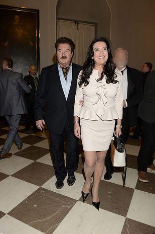 Krzysztof Krawczyk z żoną Ewą na gali Wiktorów (FOTO)