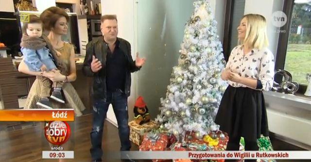 Krzysztof Rutkowski pokazał przygotowania do świąt (VIDEO)