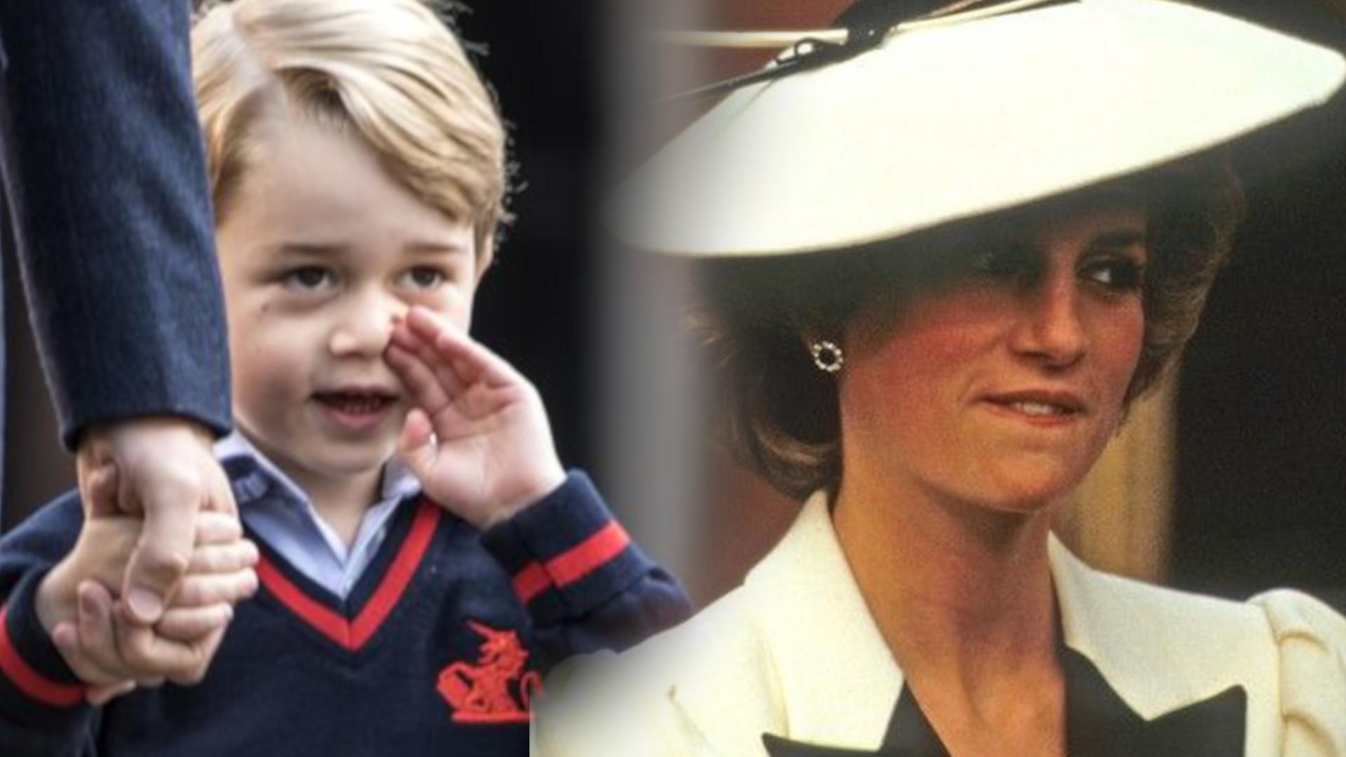Jakie CECHY odziedziczył książę George po księżnej Dianie?