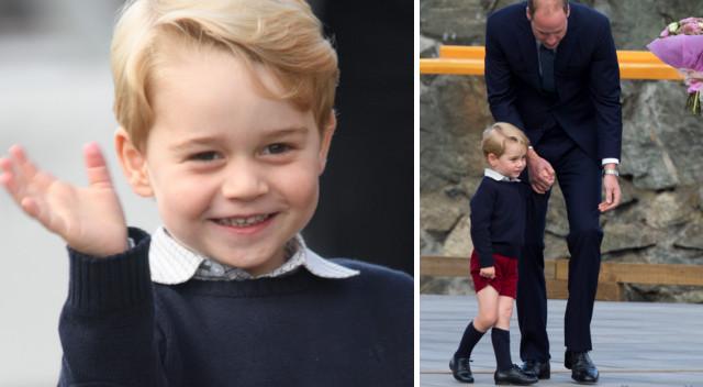 Oburzenie po tym, jak portal LGBT zapytał, czy książę George jest ikoną gejów
