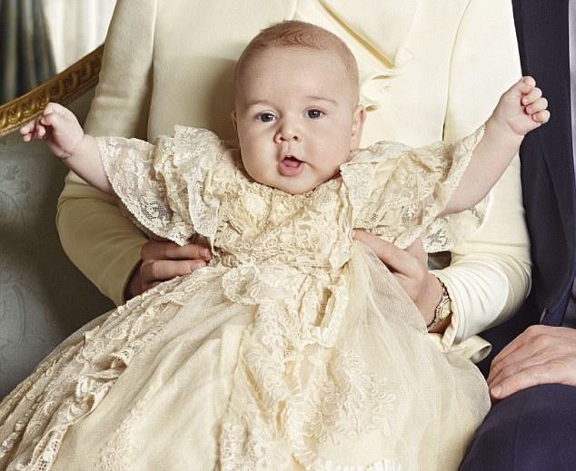 Książę Jerzy jest wiecznie głodnym dzieckiem