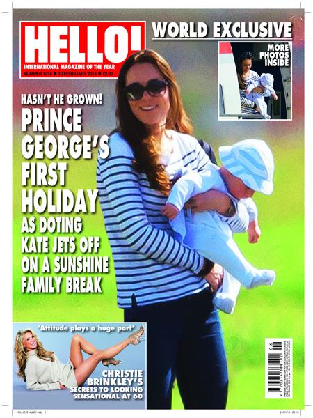 Księżna Kate z synkiem na wakacjach (FOTO)