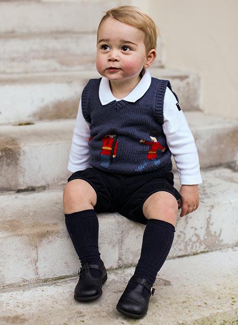 Świąteczne zdjęcia księcia Jerzego (FOTO)
