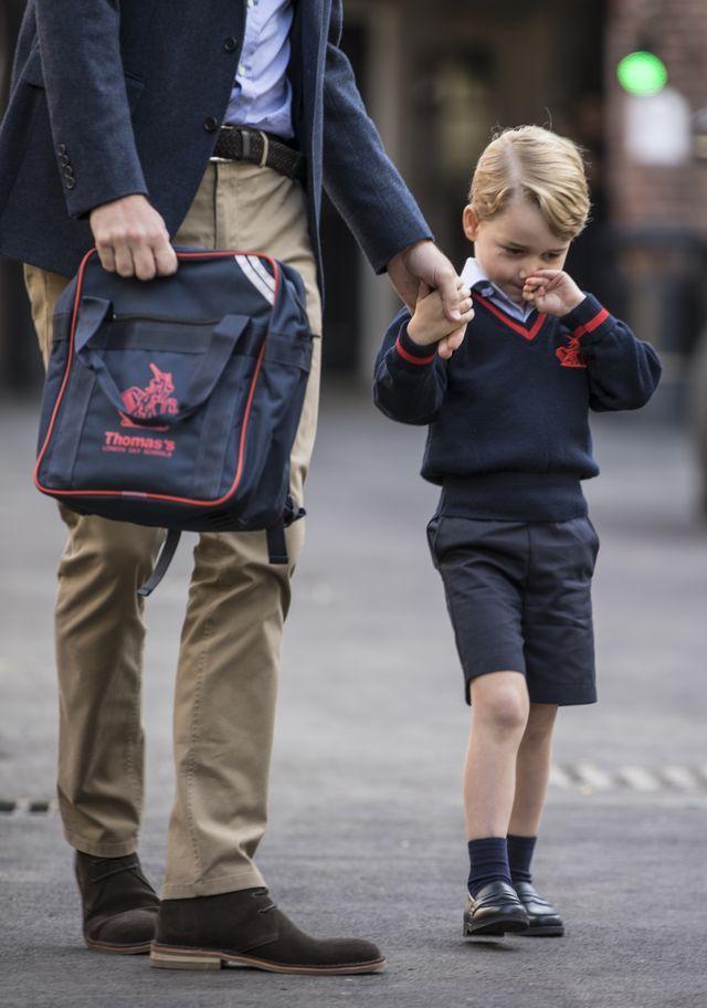 Książę William zapisał George'a na studia