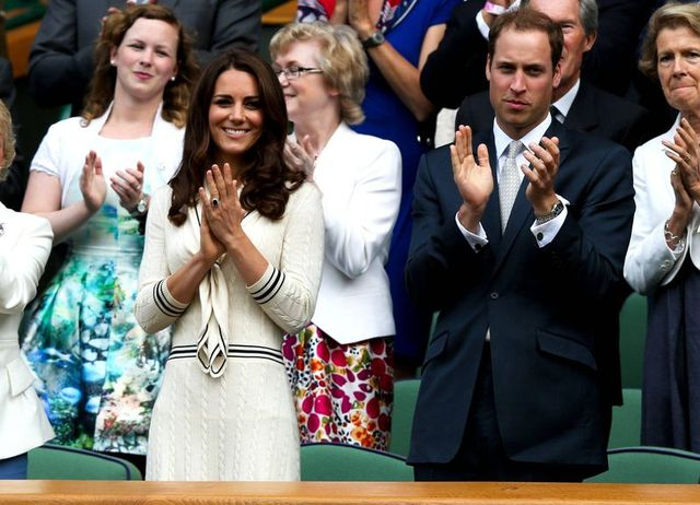 Ksi�na Catherine na kortach Wimbledonu (FOTO)
