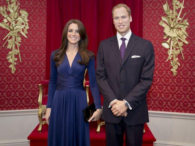 Kate i William mają swoje figury woskowe (FOTO)