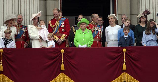 Księżniczka Charlotte zadebiutowała na balkonie Pałacu Buckingham (FOTO)