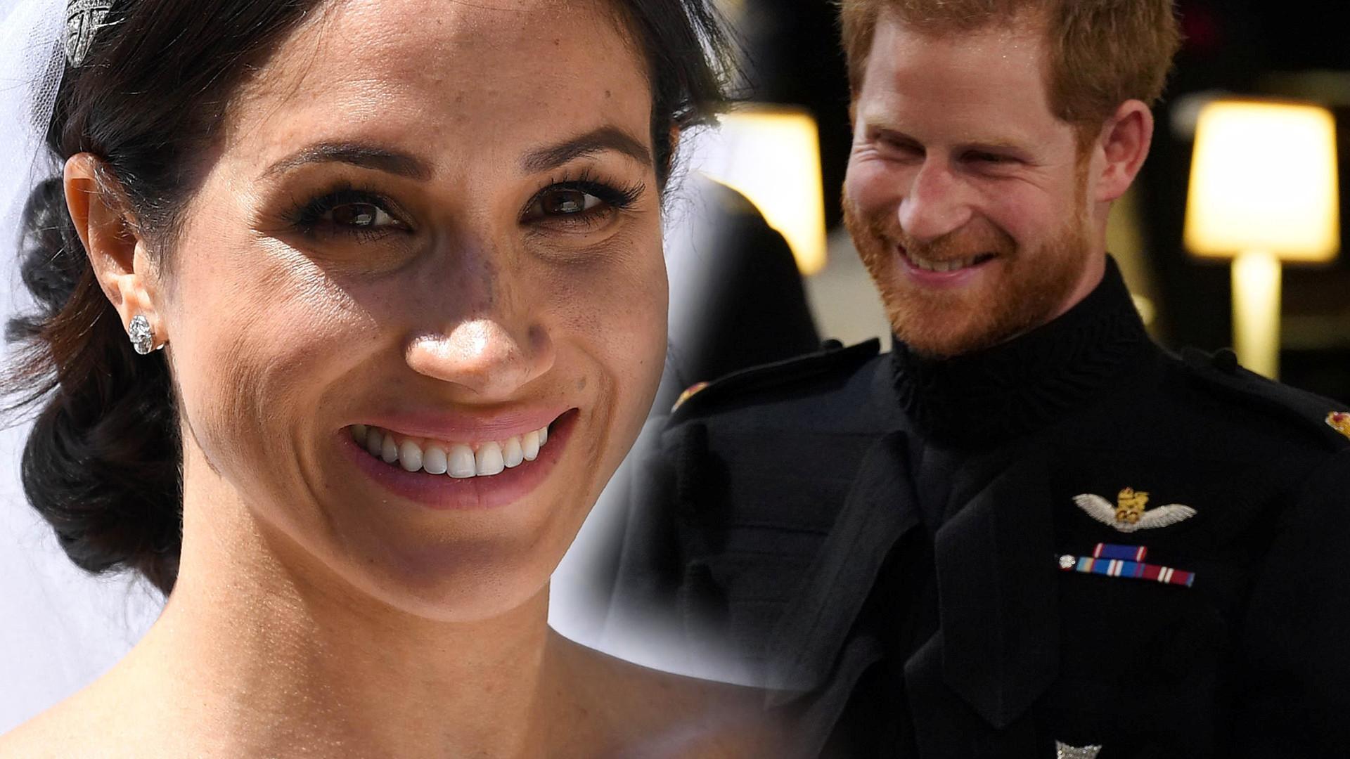 Dlaczego książę Harry tak dziękował makijażyście Meghan po ślubie?