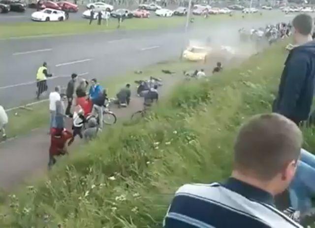 Wojewódzki nabija się z wypadku na Gran Turismo (FOTO+VIDEO)