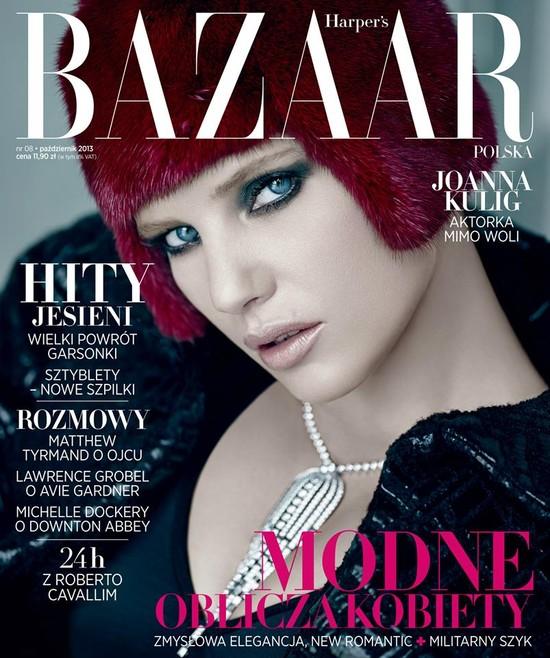Joanna Kulig na okładce polskiego Harper's Bazaar (FOTO)