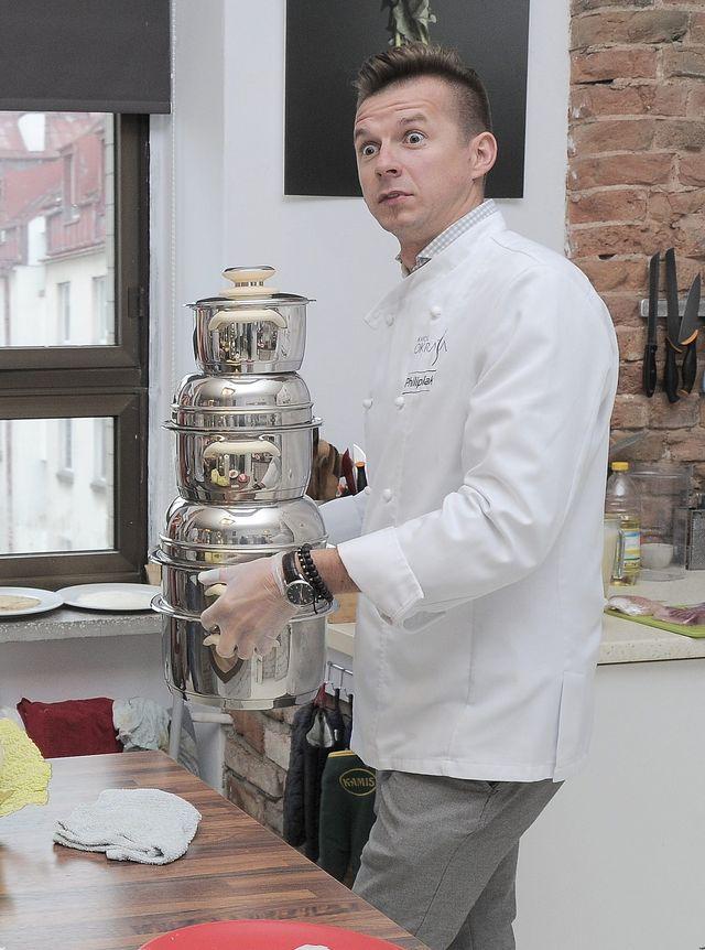 Barbara Kurdej Szatan gotuje z mężem (FOTO)