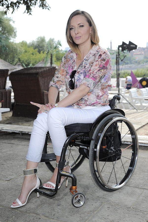 Kuszyńska:Patrzyłam z odrazą w lustro, kiedy widziałam wózek