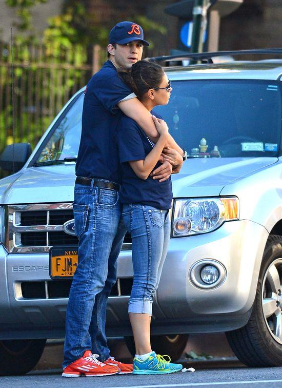 Ma��e�stwo Mili Kunis i Ashtona Kutchera wisi na w�osku!