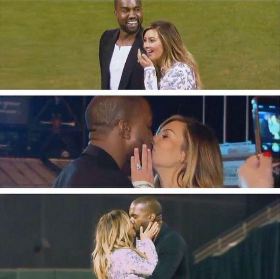 Oświadczyny Kanye Westa były fałszywe!