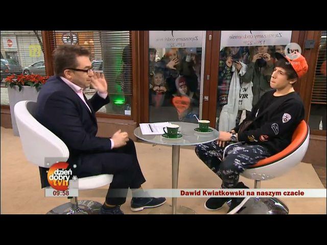 Dawid Kwiatkowski: Nigdy nie byłem normalny
