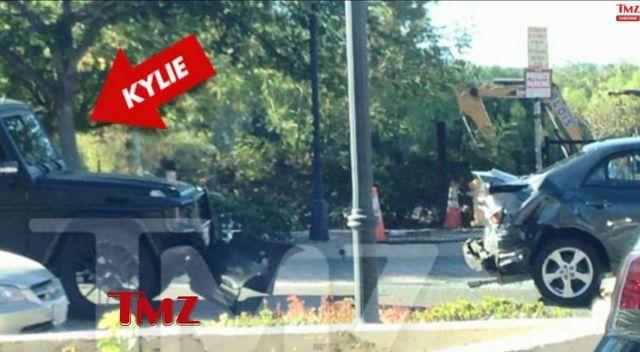 Kylie Jenner już rozbiła swoje auto! (VIDEO)