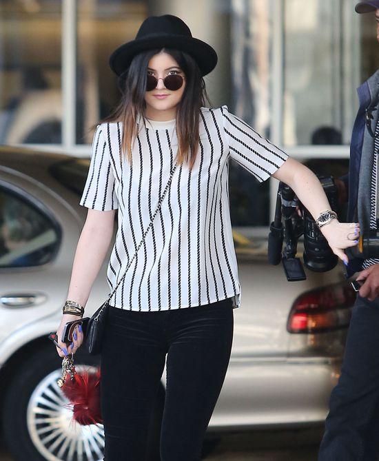 Kylie Jenner już dostała mandat za szybką jazdę!