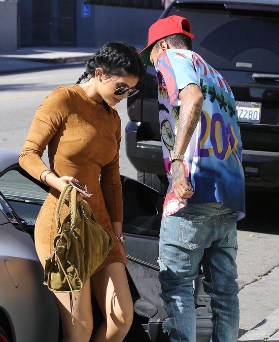 Kylie Jenner i Tyga pokłócili się w restauracji o...