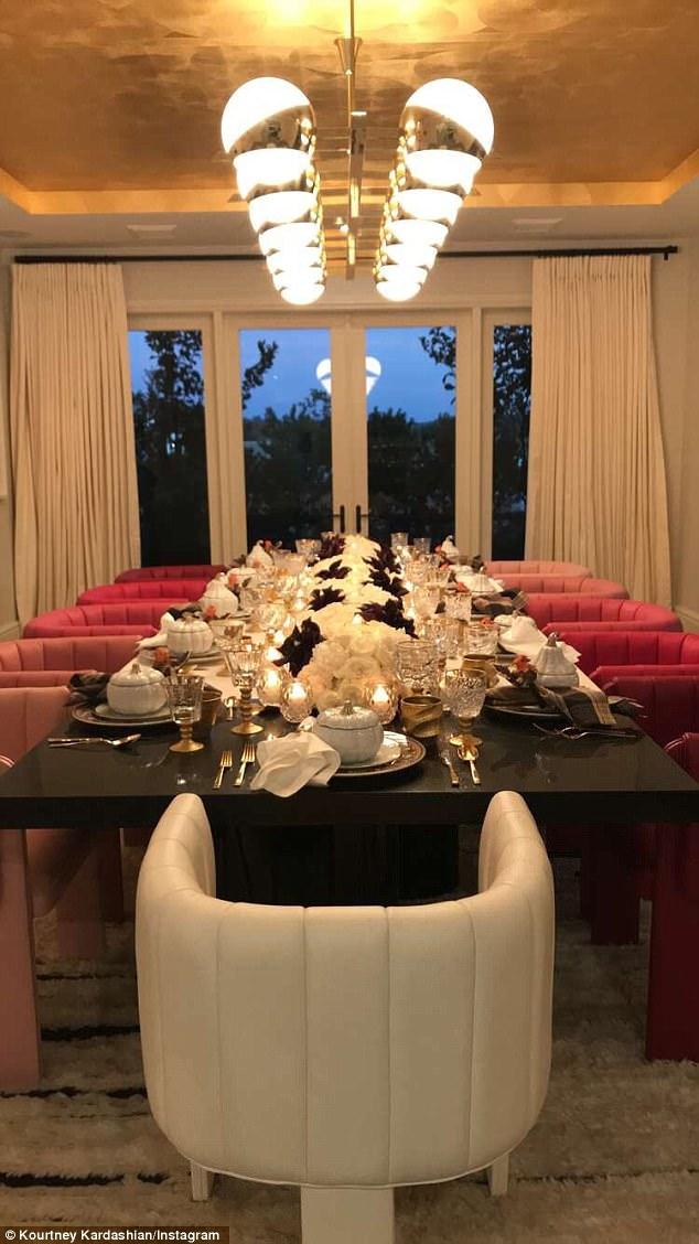 Ciężarna Kylie Jenner wyprawiła Święto Dziękczynienia