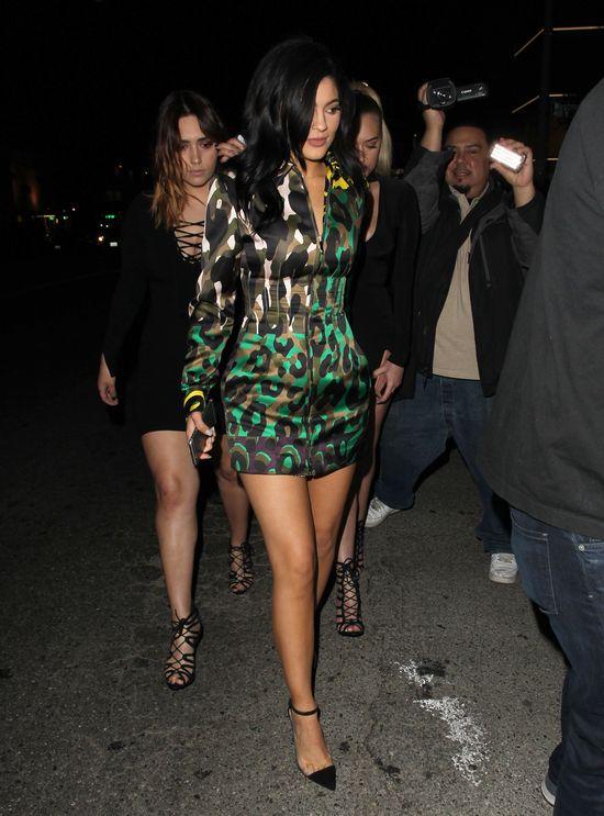 Kylie Jenner wyglądała i czuła się jak milion dolarów?