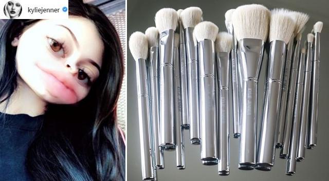 ZDZIERSTWO! – pędzle od Kylie Jenner zhejtowane w sieci